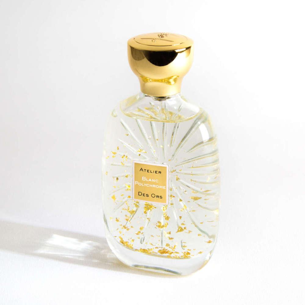 Blanc polychrome bottle shadow